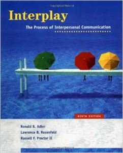 Picture of Interpersonal Communication                                       Book is Sold Out