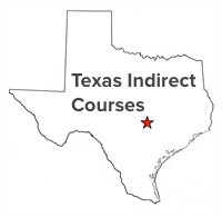 Picture for category Click here for TEXAS INDIRECT COURSES