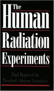 Picture of Human Radiation Experiments - Book and Test