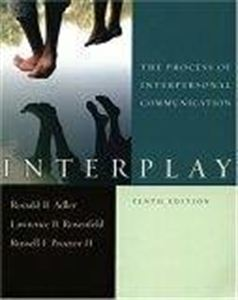 Interpersonal Communication 10th CE Course