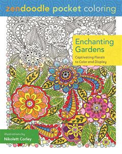 Picture of Enchanting Gardens Adult Coloring Book
