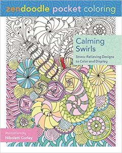 Picture of Calming Swirls Adult Coloring Book