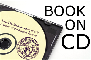 Picture of Bone Health and Osteoporosis                                                                                                                                                                    Book on CD