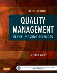 Picture of Quality Management in the Imaging Sciences-5th