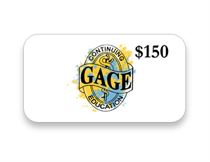 Gift Card 150 CE Course