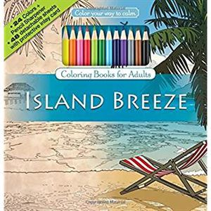 Picture of Island Breeze Adult Coloring Book