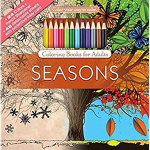 Picture of Seasons Adult Coloring Book